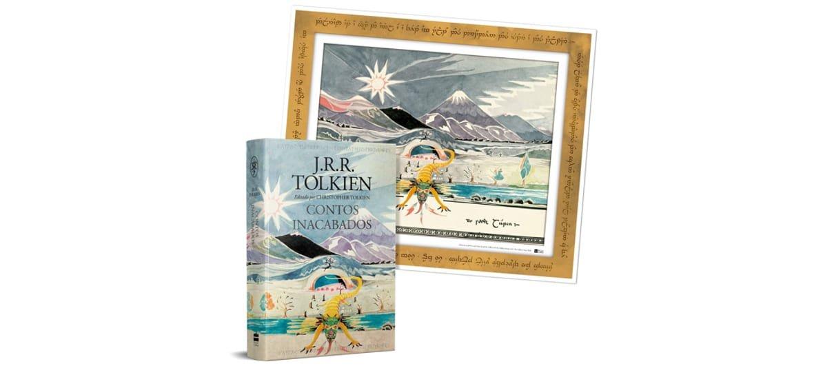 Contos Inacabados de Númenor e da Terra Média é um dos livros da biblioteca de J.R.R Tolkien