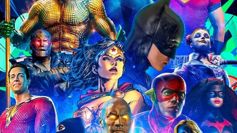 DC Fandome ganha pôster que dá prévia das atrações do evento