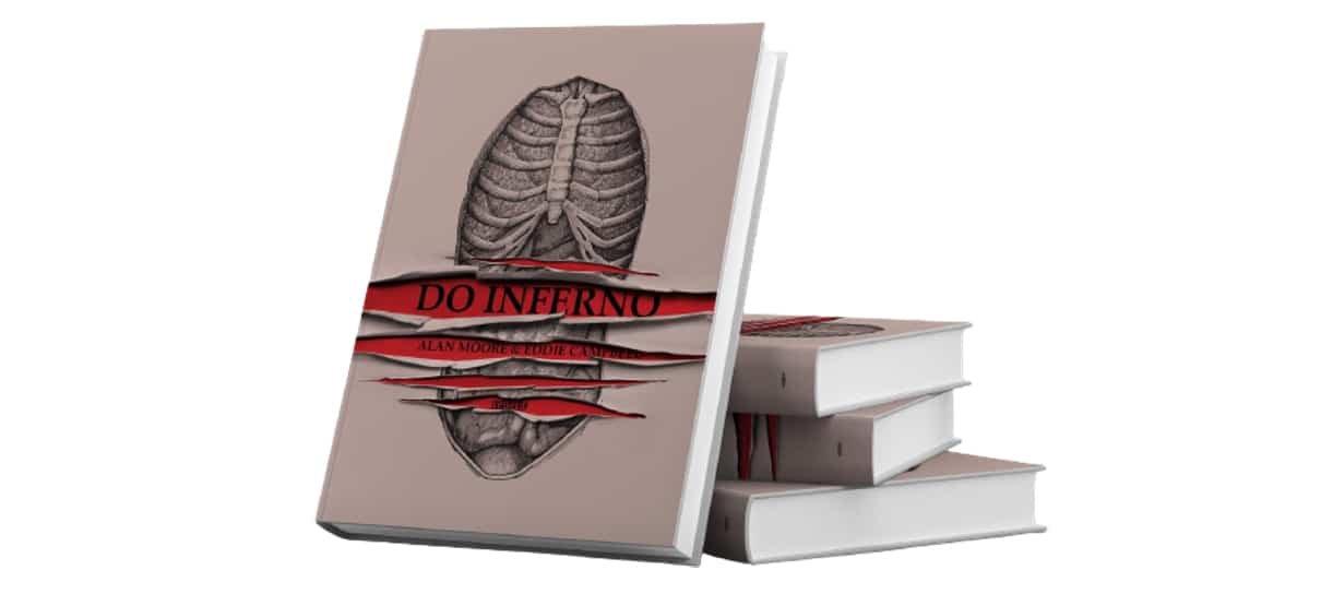 HQ Do Inferno de Alan Moore é um dos produtos em promoção na Book Friday da Amazon
