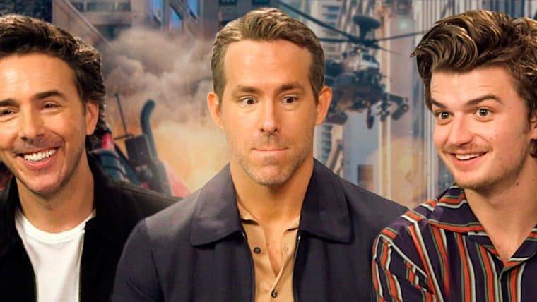 Ryan Reynolds e Joe Keery falam sobre Free Guy, K-pop, GTA e maldições