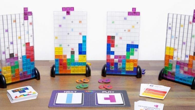 Esse jogo de tabuleiro de Tetris faz mais sentido do que parece