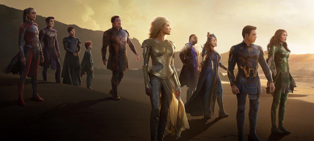 Quem são os Eternos? Conheça os heróis divinos da Marvel