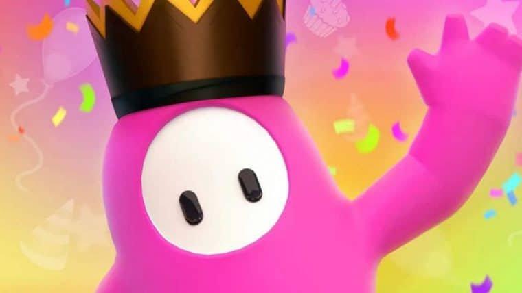 Fall Guys comemora aniversário com dobro de coroa, fases originais e skin especial