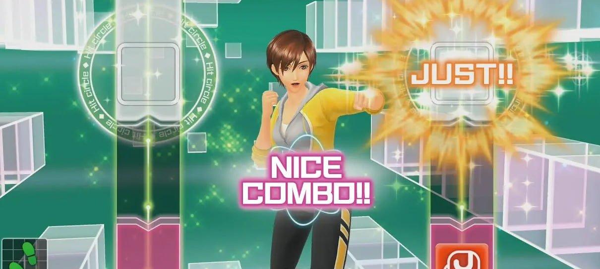Fitness Boxing, jogo de boxe Nintendo Switch, vai virar anime