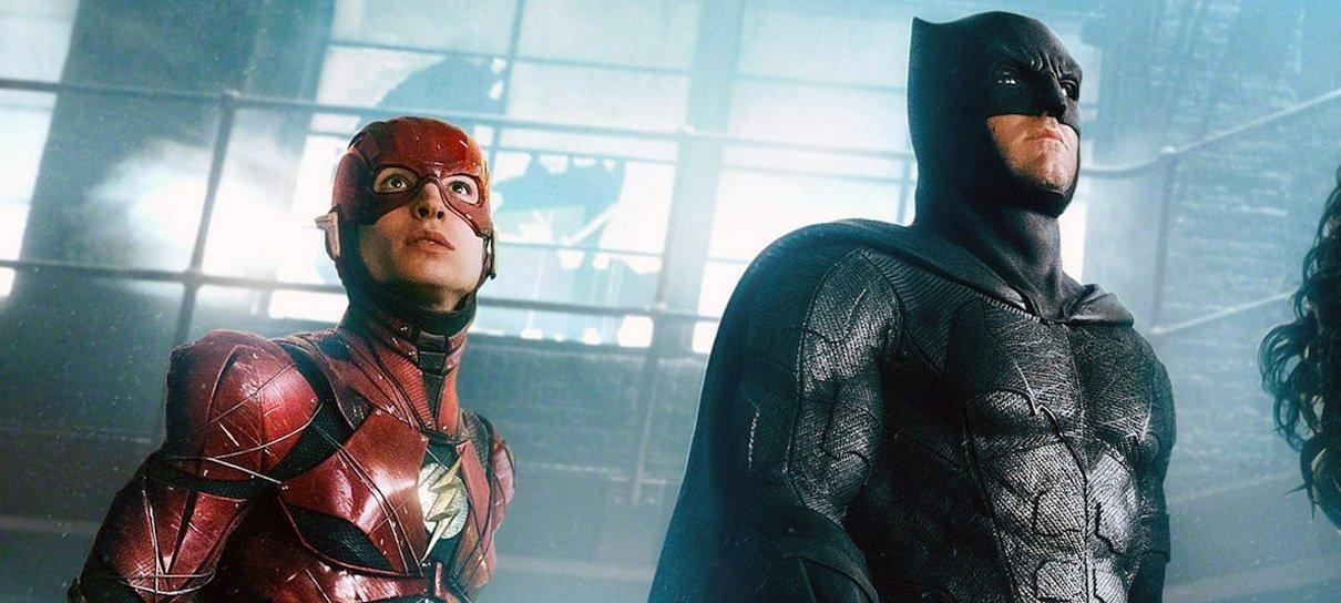 Batman aparece novamente no set de filmagens de The Flash
