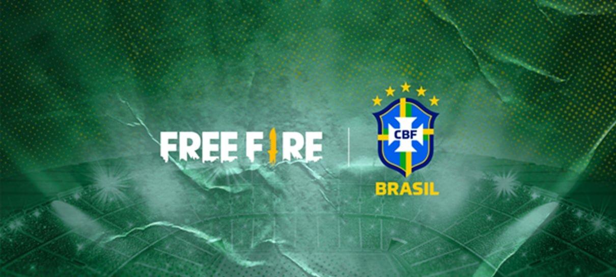 Free Fire fecha patrocínio com CBF e Seleção Brasileira