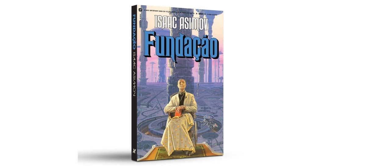 O livro Fundação é um dos produtos em oferta na Book Friday da Amazon