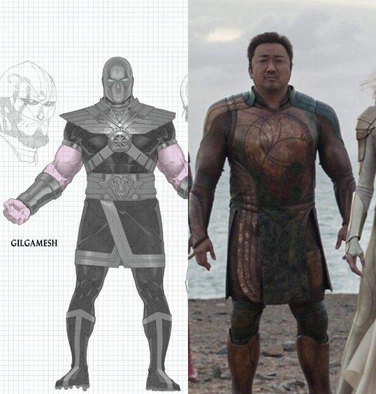 Don Lee como Gilgamesh em Eternos (Divulgação/Marvel)
