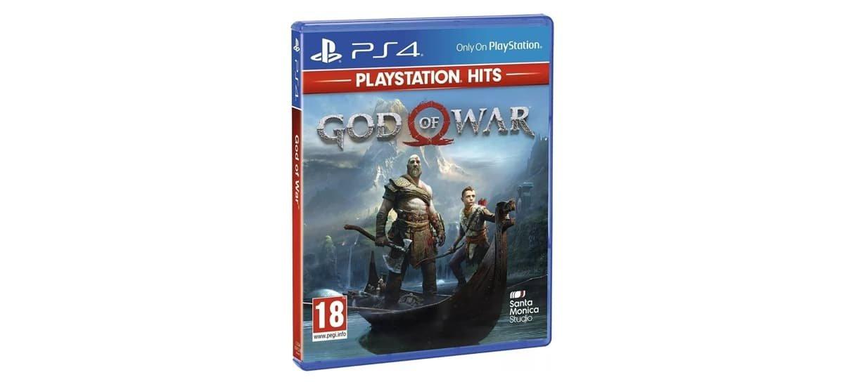 God Of War para PlayStation 4 é um dos jogos com descontos especiais na Amazon e Magalu