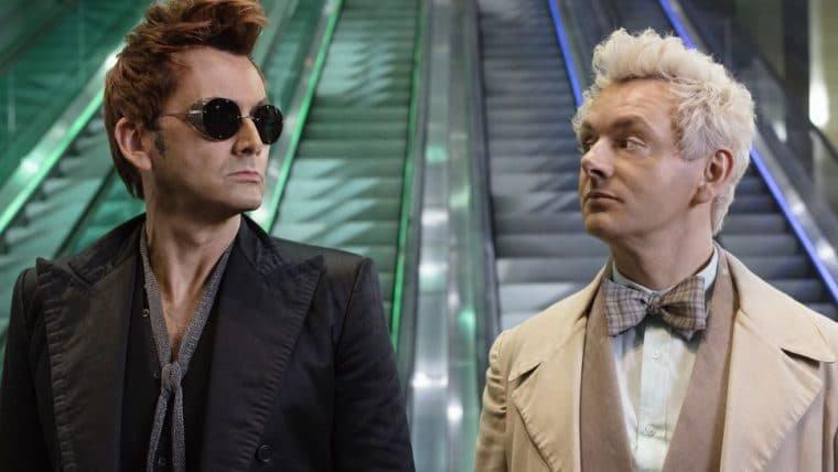 Good Omens: Foto dos bastidores revela início das gravações da 2ª temporada