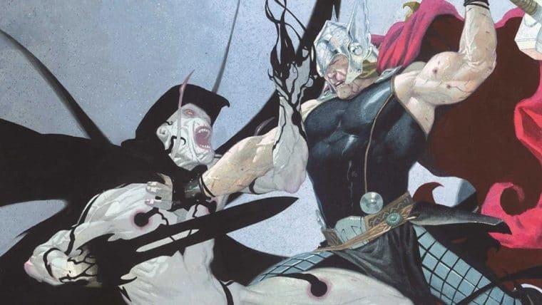 Foto de bastidores mostra visual do vilão de Christian Bale em Thor 4
