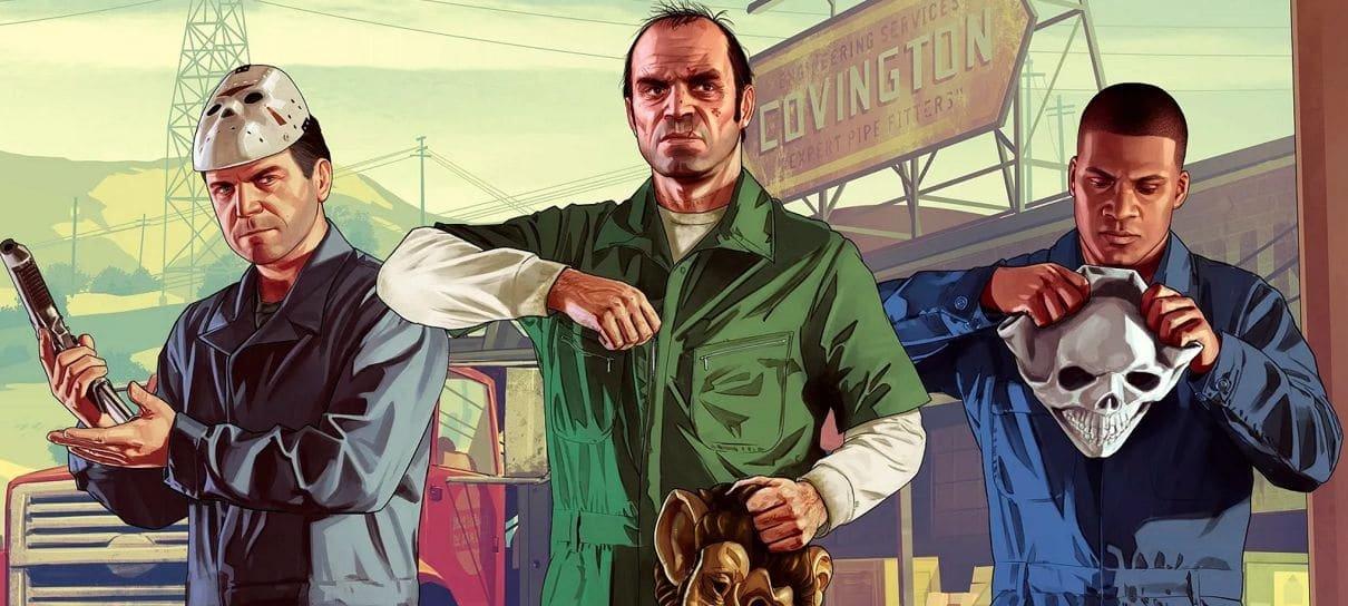GTA V ultrapassa marca de 150 milhões de cópias vendidas