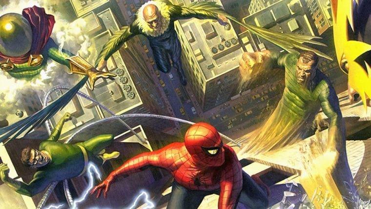 Conheça o Sexteto Sinistro, a equipe formada pelos vilões do Homem-Aranha