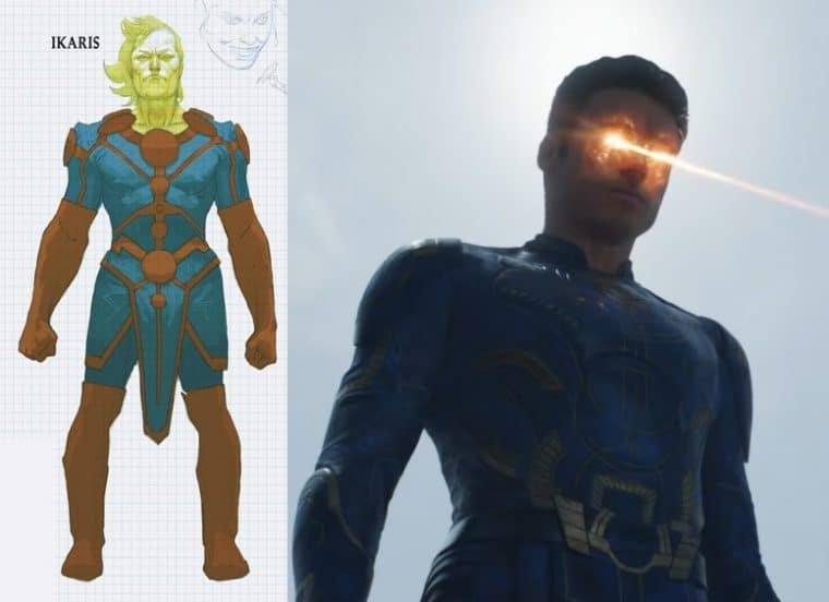 Richard Madden como Ikaris em Eternos (Divulgação/Marvel)