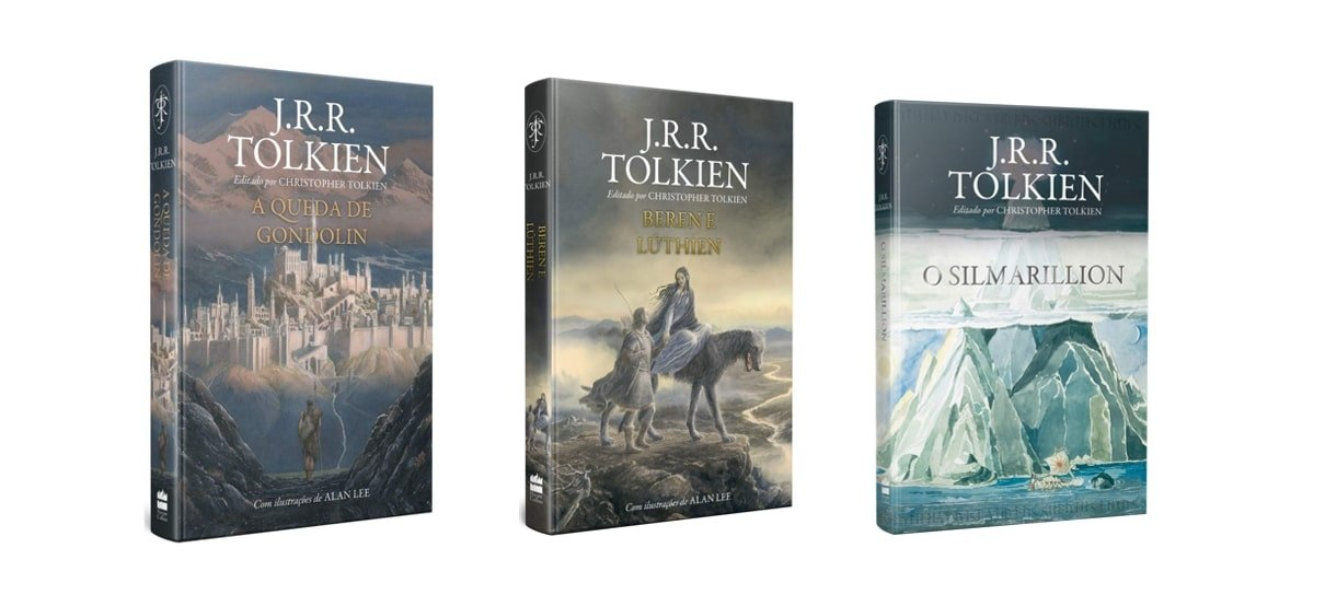 Kit Grandes Contos é um dos produtos da biblioteca de J.R.R Tolkien