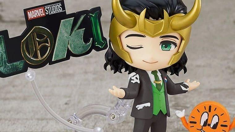 Nendoroid do Loki é a Variante que você quer na sua estante
