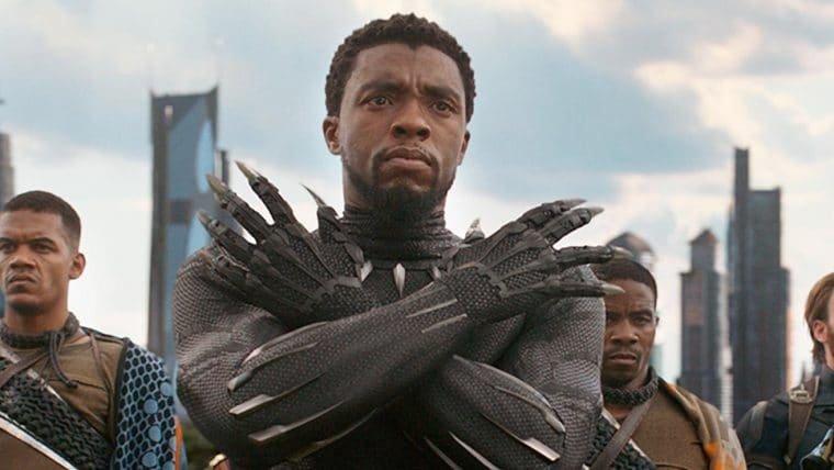 """Marvel homenageia Chadwick Boseman: """"amigo, inspiração e Rei"""""""