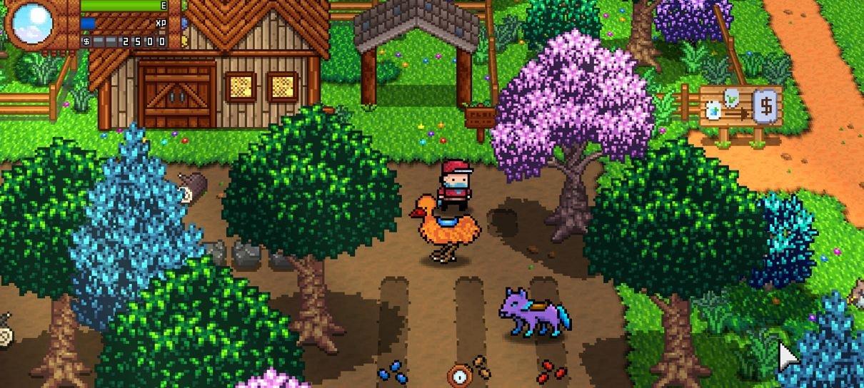 Monster Harvest, jogo indie que mistura fazenda e monstros, ganha nova data
