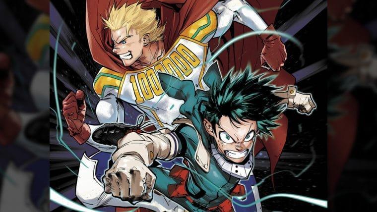 Edição europeia de My Hero Academia ganha capa desenhada por artista de Batman