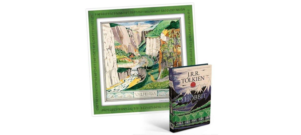 O Hobbit é um dos livros da biblioteca de J.R.R Tolkien