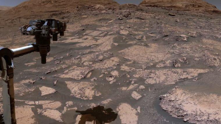 Vídeo leva você para um passeio com a sonda Curiosity da NASA