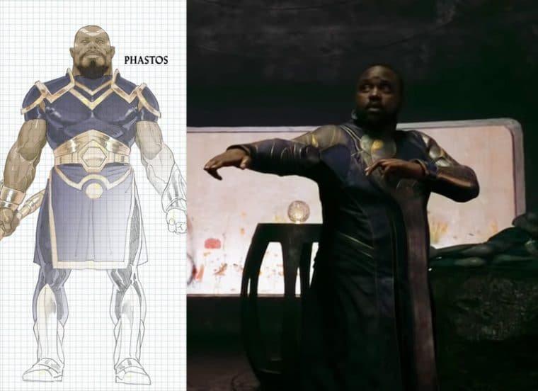 Brian Tyree Henry como Phastos em Eternos (Divulgação/Marvel)