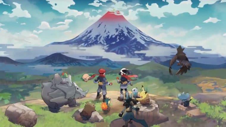 Pokémon Legends: Arceus ganha novo trailer com data de lançamento