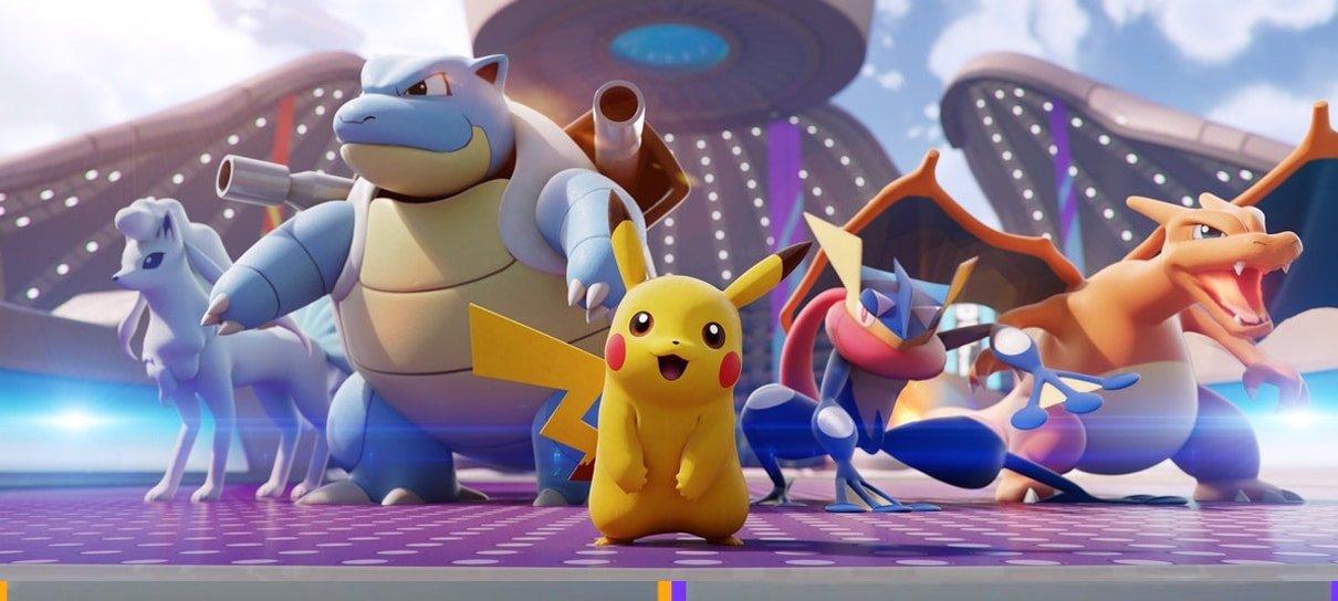 Pokémon Unite ganha data de lançamento no mobile; dois novos Pokémon são anunciados