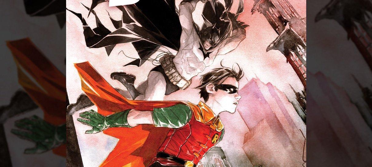DC anuncia Robin & Batman, nova HQ de Jeff Lemire