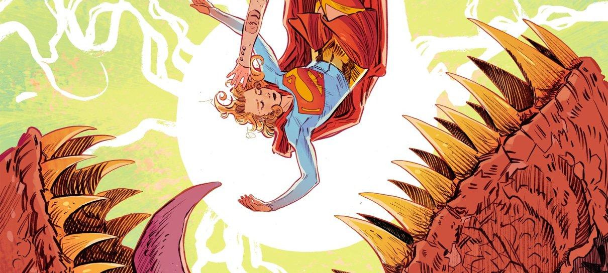 Artista brasileira Bilquis Evely revela capa de nova HQ da Supergirl