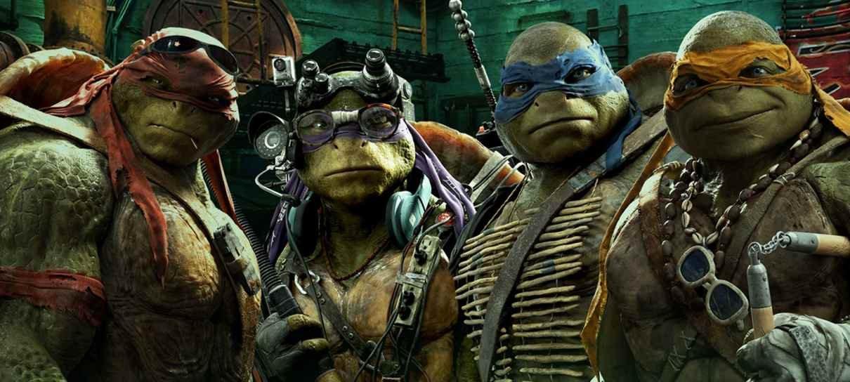 Novo live-action de Tartarugas Ninja ganha dupla de roteiristas