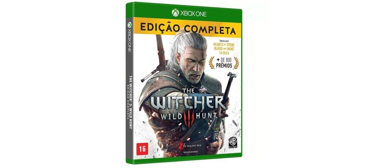 The Witcher 3 para Xbox One é um dos jogos com descontos especiais