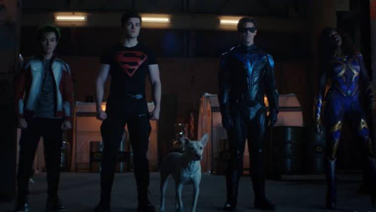 Titãs unem forças com Krypto, o Supercão, em cena da 3ª temporada