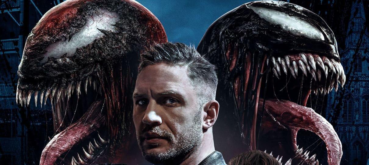 Venom: Tempo de Carnificina ganha pôster reunindo os personagens