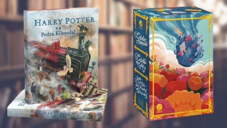 Edição Ilustrada de Harry Potter e muito mais com frete grátis no Black App da Magalu