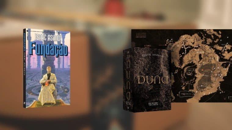 Box de Duna, Fundação e outros produtos com ofertas exclusivas na Book Friday da Amazon