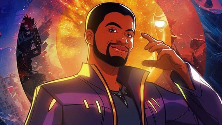 Novo pôster de What If…? apresenta T'Challa como Senhor das Estrelas; veja