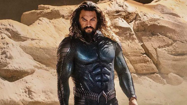 Jason Momoa apresenta seu novo uniforme em Aquaman 2