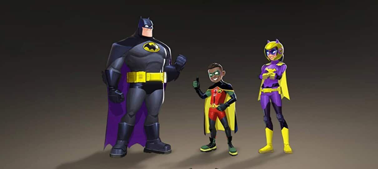Batwheels, série animada do Batmóvel, ganha imagem apresentando os heróis