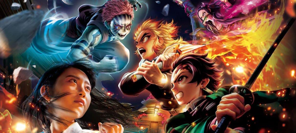 Universal Studios Japan inaugura montanha-russa VR de Demon Slayer