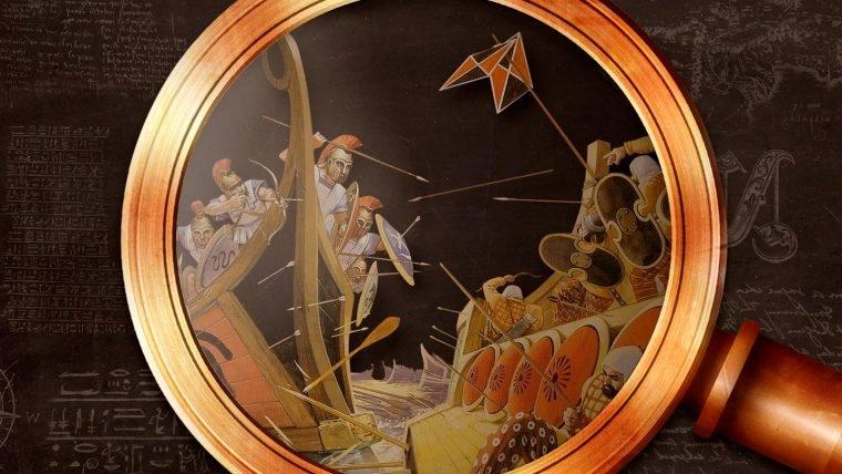 A maior batalha naval da Antiguidade