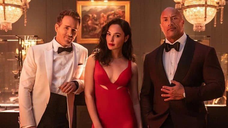 Alerta Vermelho, filme com The Rock, Ryan Reynolds e Gal Gadot, ganha primeiro trailer