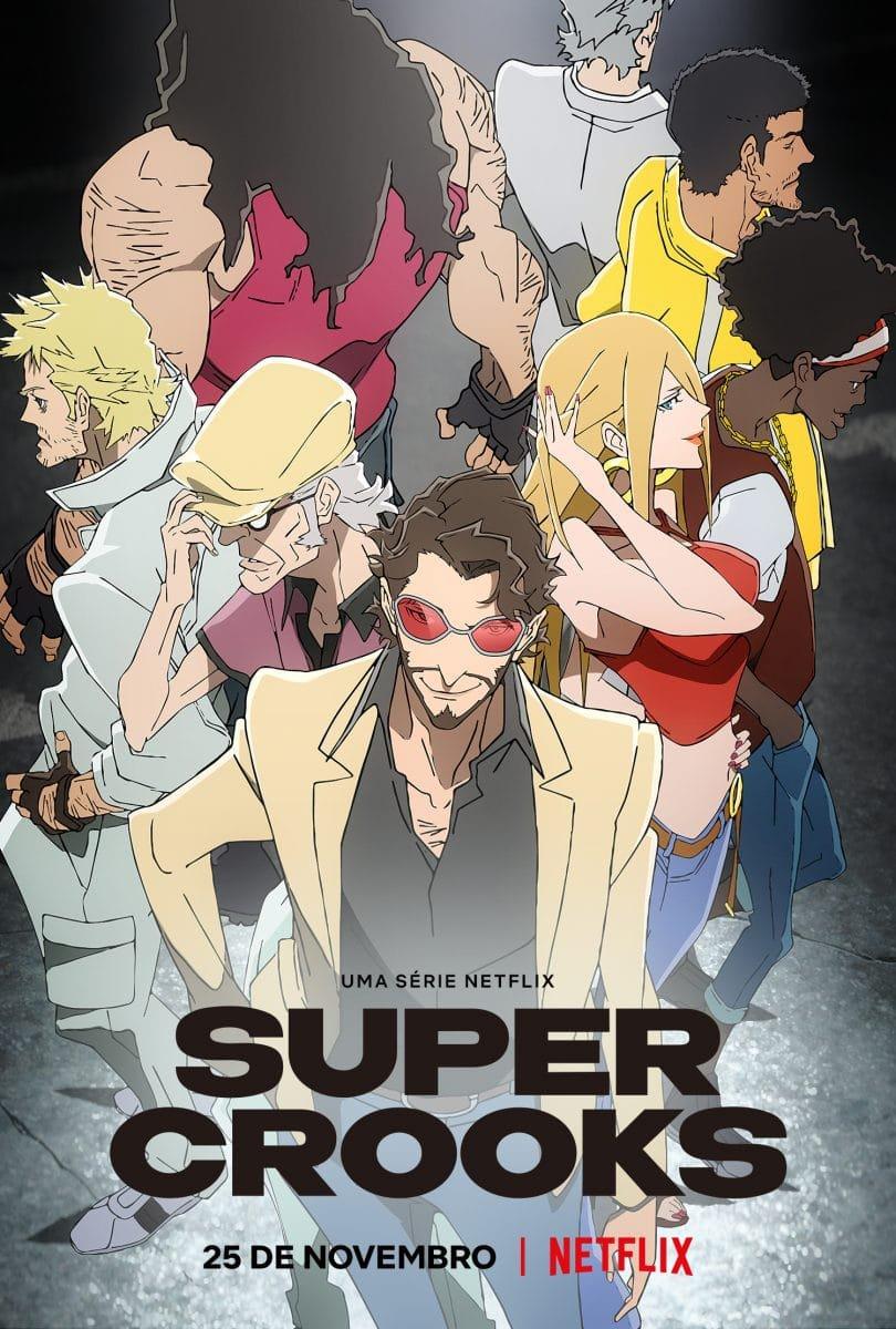 Pôster de Super Crooks (Divulgação/Netflix)