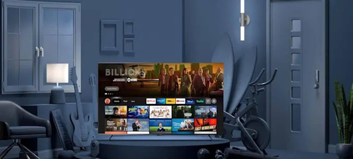 Amazon lança a própria linha de aparelhos de TV