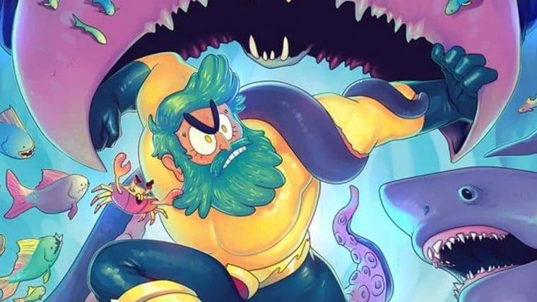 Animação do Aquaman no HBO Max ganha pôster e revela data de estreia dos episódios