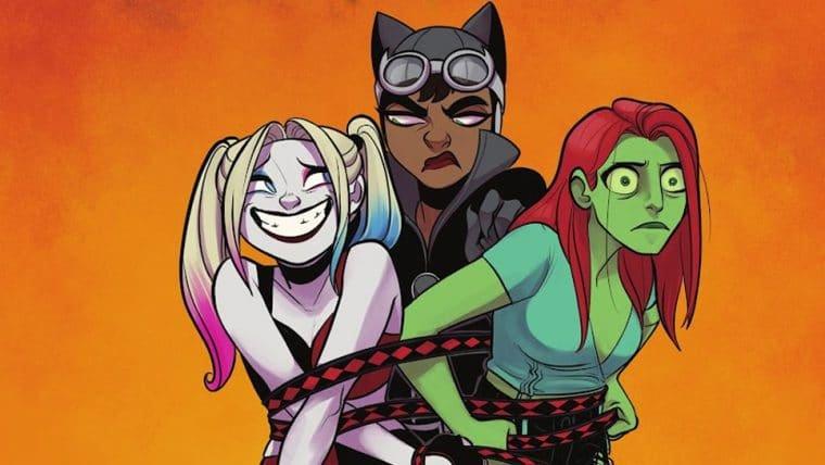 HQ da Arlequina faz referência a cena censurada entre Batman e Mulher-Gato na animação
