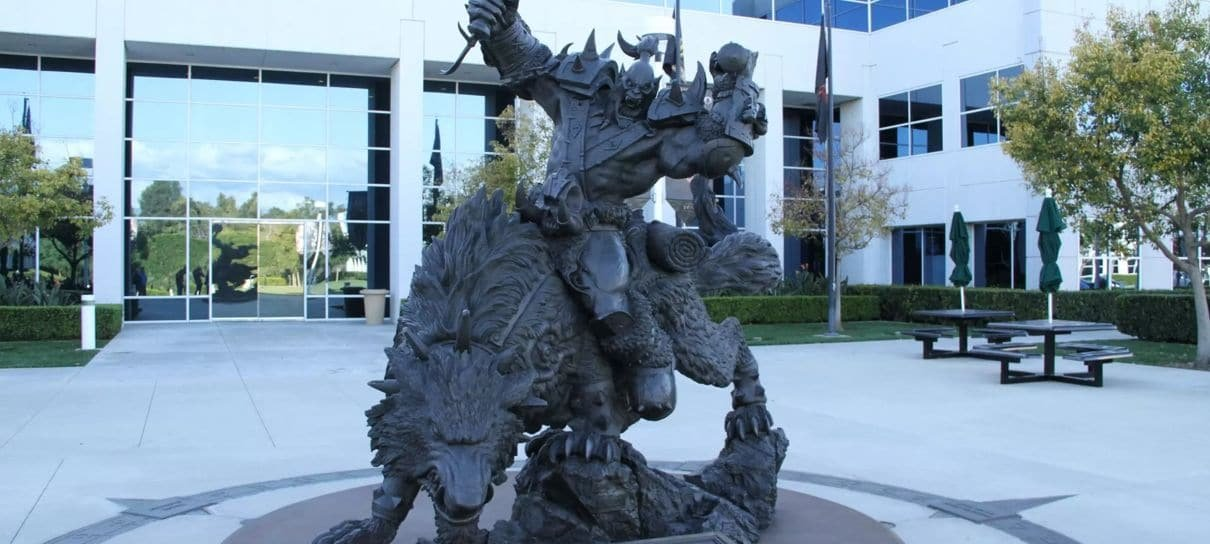 Activision Blizzard é processada novamente, após acusações de intimidar funcionários