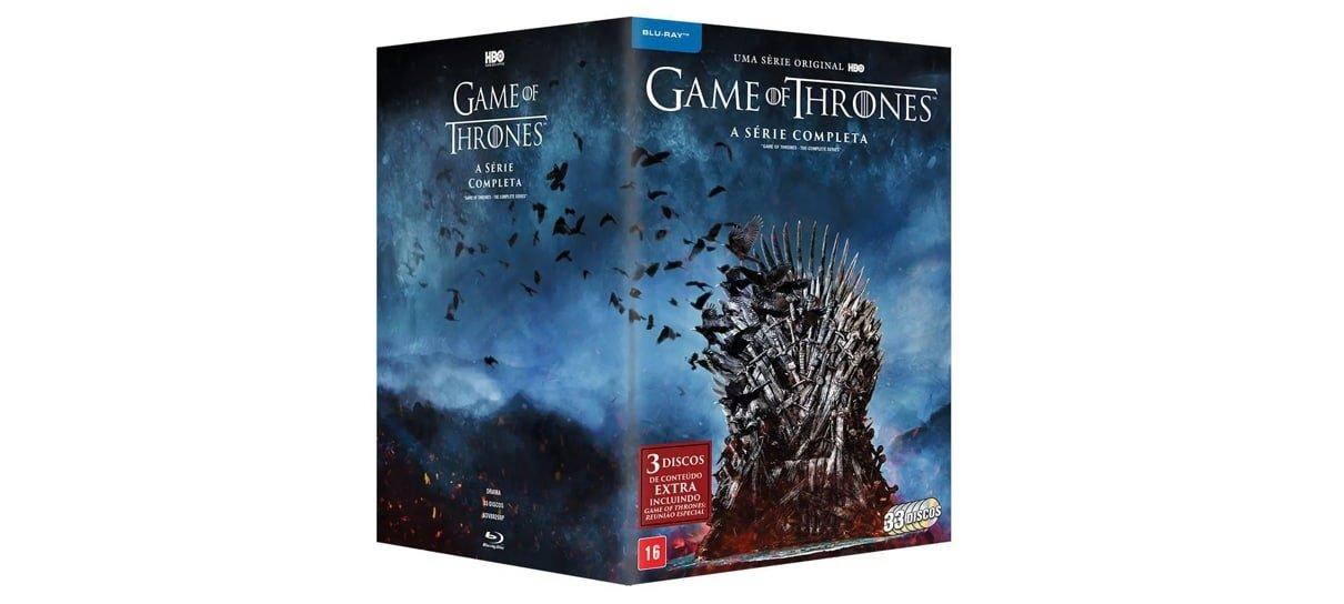Box de Game Of Thrones é uma das obras de grandes franquias do NerdBunker
