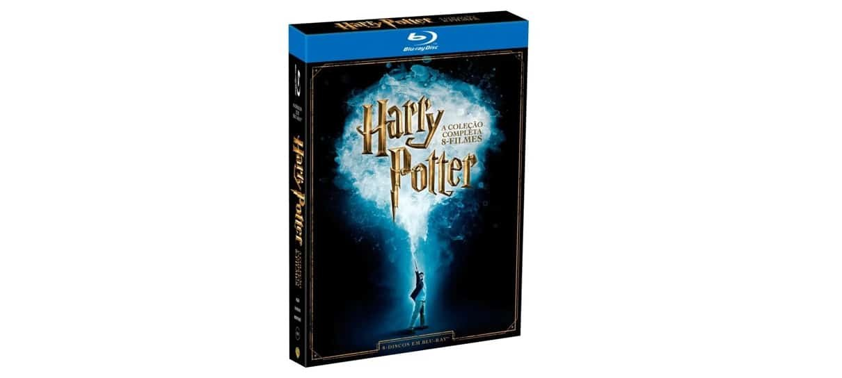 Blu-ray de Harry Potter é uma das obras de grandes franquias do NerdBunker