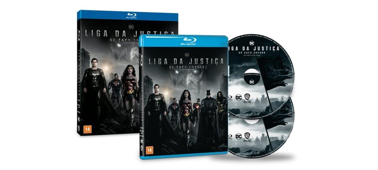 Blu-ray de Snyder Cut